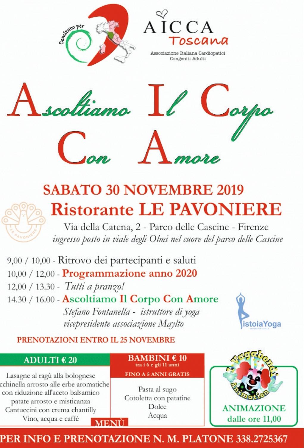 Evento novembre 2019